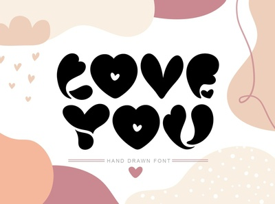 Love You Hand Drawn Font