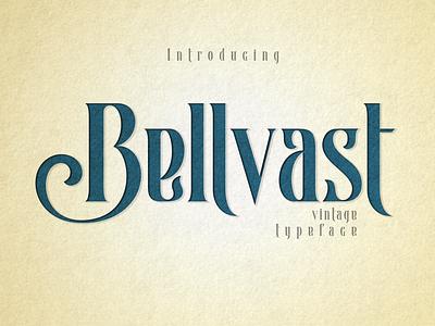 Bellvast - Vintage Typeface vintage fonts retro fonts modern logo lettering branding modern fonts serif elegant fonts serif font sans serif serif fonts font design fonts collection vintage design vintage badge vintage font typeface vintage typeface vintage
