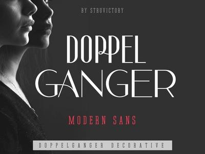 Doppelganger - Modern Sans Serif
