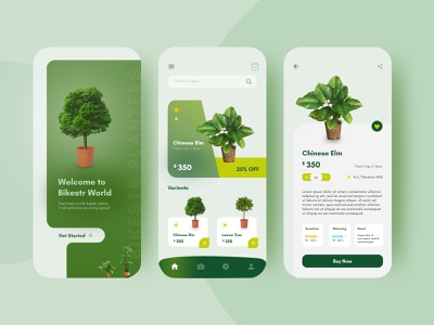 Plant App Redesign figmadesign web high resolution dribbble ux branding mobile app design mobile app xd design adobexd figma illustration photoshop