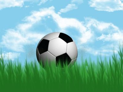 Football web ui illustration design fitness football wallpaper photoshop
