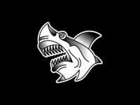 Tattoo Flash - Shark Bite
