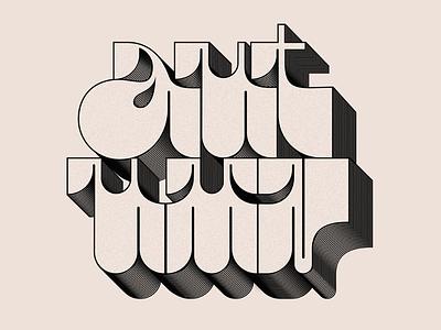 AUTUMN stripes type art graphic design typography design typography art grain typography type autumn lettering