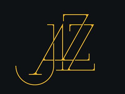 Jazz Lettering typography design vector lettering challenge typography type lettering art lettering jazz