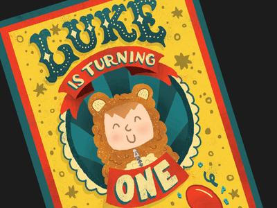 Luke is Turning One
