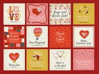 Valentine's Day Social Media Pack