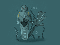 K-2SO Mermaid