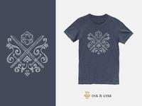 Roll Initiative Skull T-Shirt