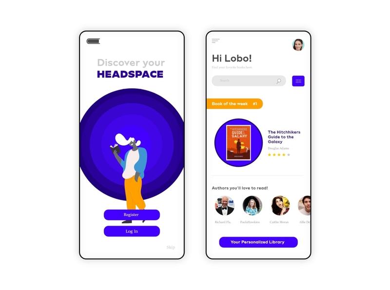 Online book reading App UI online books reading app book reading app ui design app design
