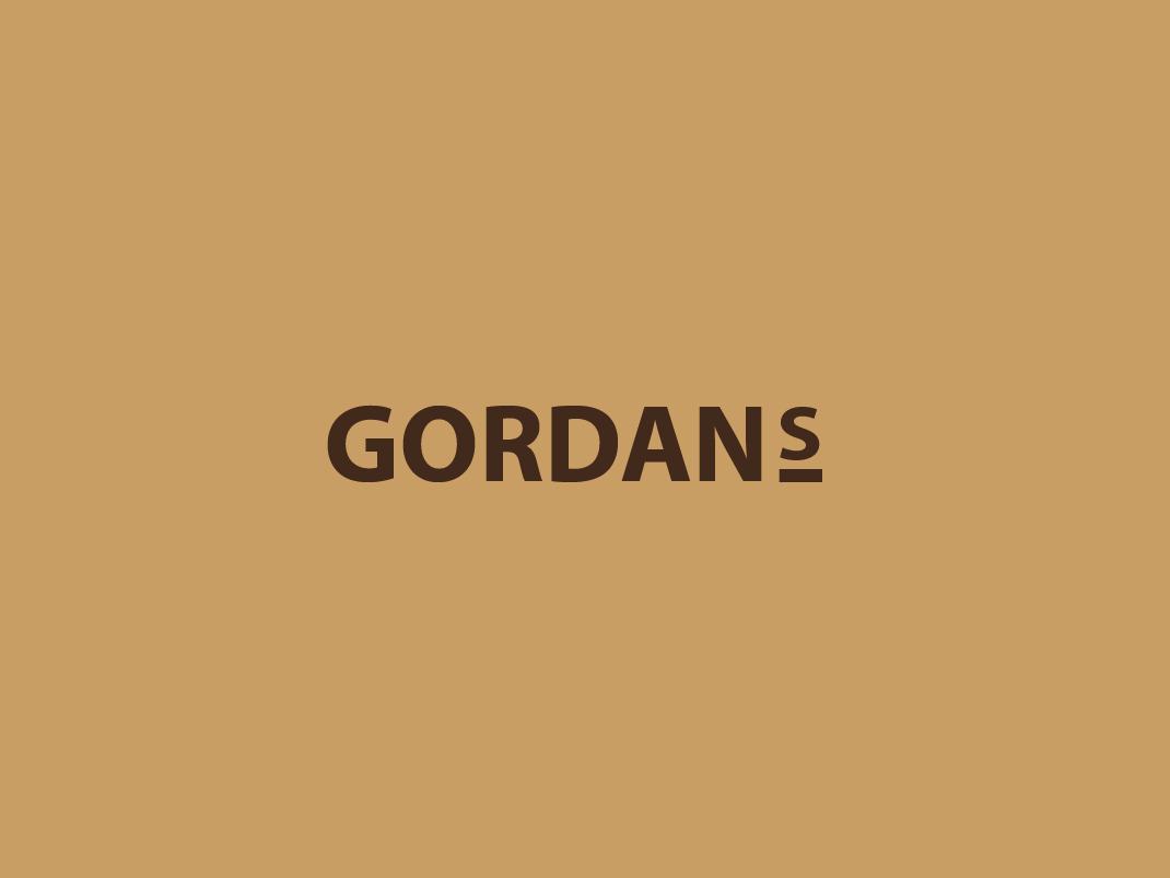 GORDAN'S coffee logo_icon 2.0 brown icon logo jonas coffee