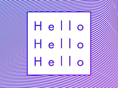 Hello debut