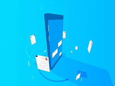 Mobile | TeleTowns motion design print logodesign 2danimation teletowns app branding illustrator after effect aftereffects motion graphic motiongraphics motion animation logo vector illustration design 2d animation 2d