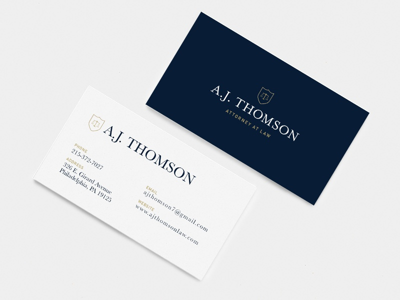 Business Card Design by Vika Nova - Dribbble