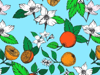 Oranges and Blossoms!