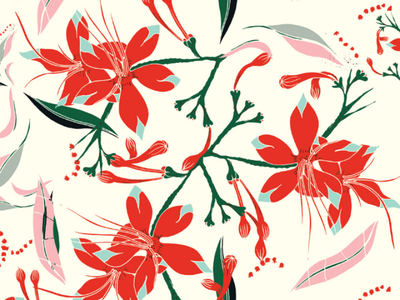Flowers flowers flowers. illustration flowery fashion textiles textile design surface pattern pattern design patterns flowers
