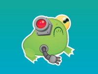 ROBOTOAD for STICKER MULE