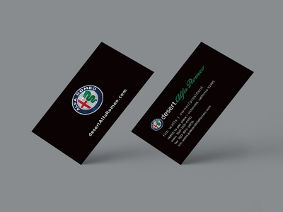 Alfa Romeo | Custom Business Cards
