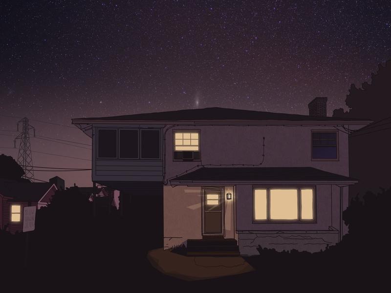 Night House illustration