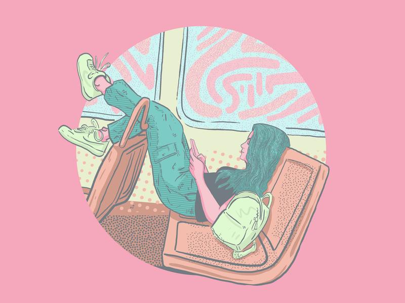 Portrait of Mattie illustration