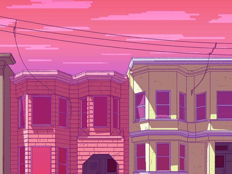 San Francisco illustration