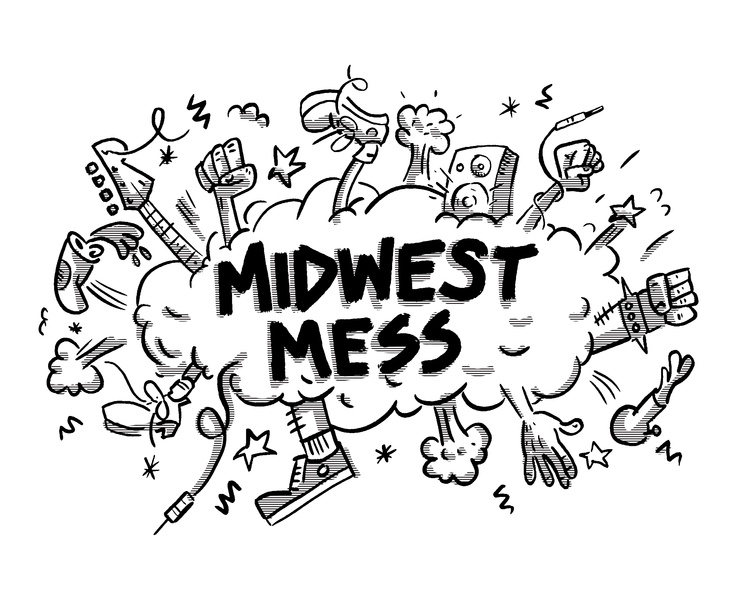 Midwest Mess illustration