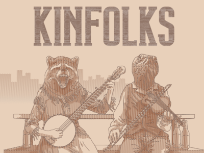 Detail of Kinfolks album cover