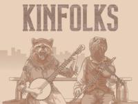 Detail of Kinfolks album cover