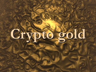 Crypto gold webgl glsl typography 3d design generative art creative coding design logo