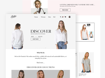 Ecommerce, Landing Page Design 🔥 By Ismail ifnlinks ismail designer design app designer app design web page ecommerce website design for usa ecommerce website design ecommerce website user experience userinterface ux design agency ux designer ui designer ux design ui design web page design landing pages landingpage