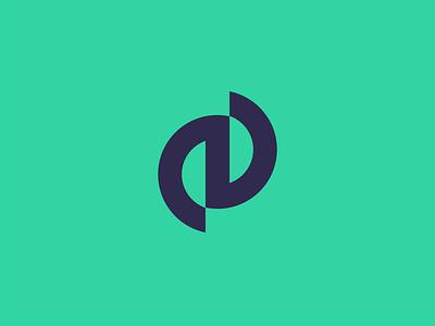Logo + E blue green letterpress lettermark letter logotypes design logotype logo design logo
