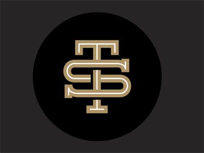 TS6 interlocked logo monogram letters top shelf