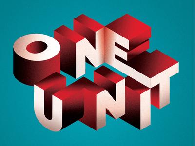 One Unit colors letters words