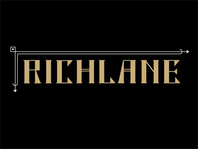Richlane3 logo lettering bar