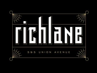 Richlane 6 logo lettering bar
