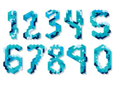 Numbers numbers type colors stuff things