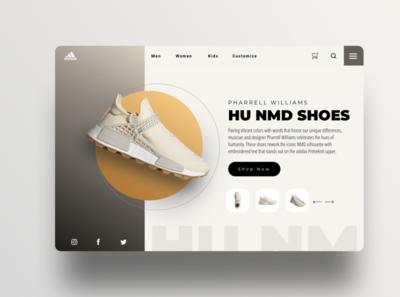 Adidas Shoe redesign
