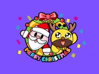 Panda & Bee Merry Christmas!