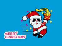 Panda Merry Christmas!