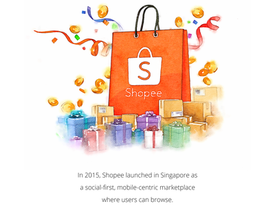 shopee designs themes templates and downloadable graphic elements on dribbble shopee designs themes templates and