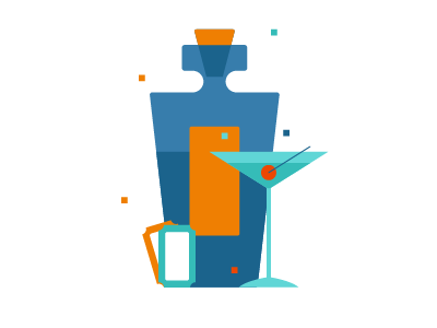 ICON EXPLORATION socialmedia minimal graphics vector iconography icon cocktail tickets whiskey