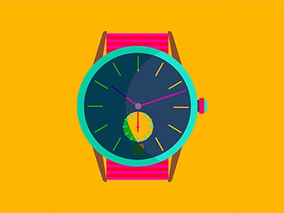 Watches clock iconography icon illustration overlay time watch