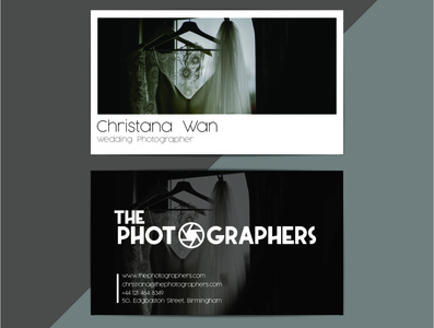 The Photographers | Business Card Concept