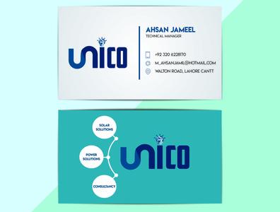 Sleek Business Card Design
