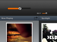 Groove for iPad UI