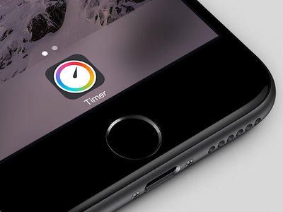 Timer 3.0 for iOS ios app icon timer iphone clock