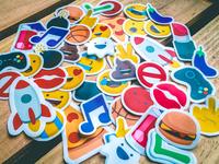 Zenly Emojis Stickers ghost gaming rocket cocktail music kiss poop burger cute zenly emoji stickers