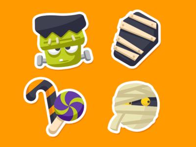 Zenly Halloween Emojis 1/3 halloween emojis iphone app zenly