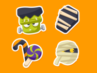 Zenly Halloween Emojis 1/3
