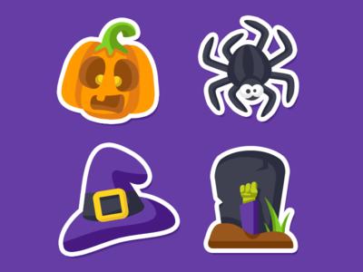 Zenly Halloween Emojis 2/3 by Julien Martin - Dribbble