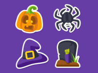 Zenly Halloween Emojis 2/3